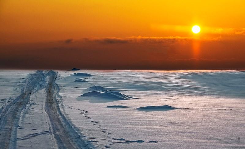 Szaleństwa mazurskiej zimy