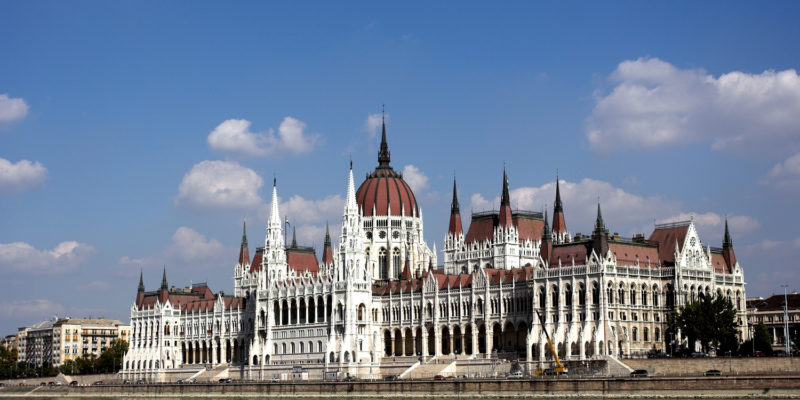 The building of the Parliament of Hungary
