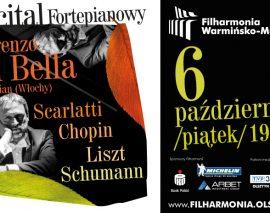 Inauguracja cyklu Mistrzowskie Recitale Fortepianowe